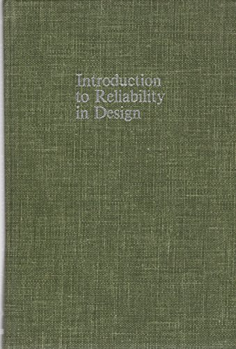 9780070590830: Introduction to Reliability in Design