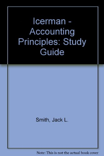 9780070591387: Icerman - Accounting Principles: Study Guide