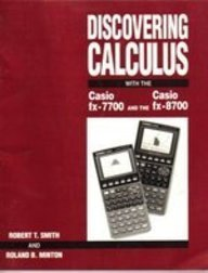 9780070592001: Discovering Calculus With the Casio Fx-7700 and the Casio Fx-8700