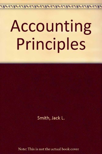 9780070592384: Accounting Principles