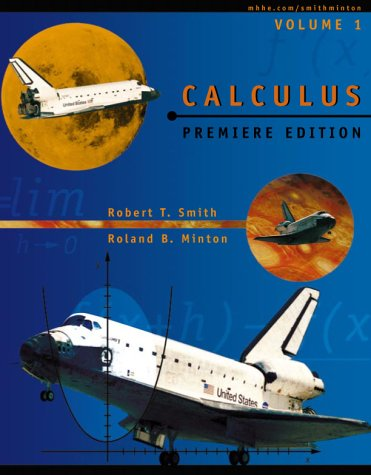 9780070592469: Calculus: A Modern Approach, Premiere Edition-Volume I