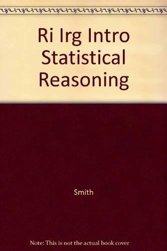 9780070592780: Ri Irg Intro Statistical Reasoning
