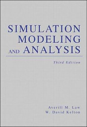 9780070592926: Simulation Modeling and Analysis (Industrial Engineering and Management Science Series)