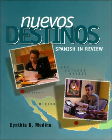 9780070593336: Nuevos Destinos: Spanish in Review (Student Edition)