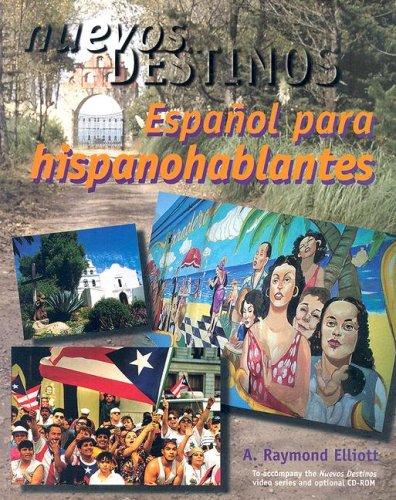 9780070593343: Nuevos Destinos:  Espanol para hispanohablantes (Student Edition)