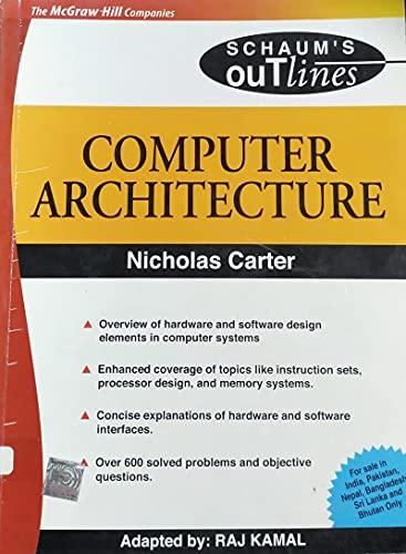 9780070593725: Computer Architecture