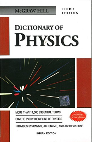 9780070593817: Dictionary of Physics