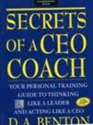 9780070593831: Secrets of A CEO Coach