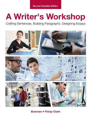 9780070593947: A Writer's Workshop: Crafting Sentences, Building Paragraphs, Designing Essays