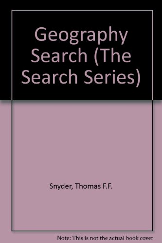 9780070594586: Geography Searchbook (The Search Series)