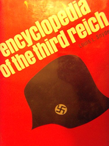 9780070595255: Encyclopedia of the Third Reich