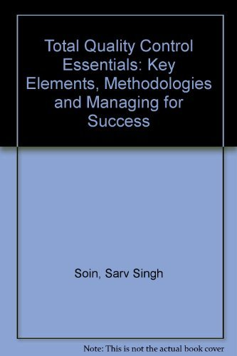 9780070595484: Total Quality Control Essentials: Key Elements, Methodologies, and Managing for Success