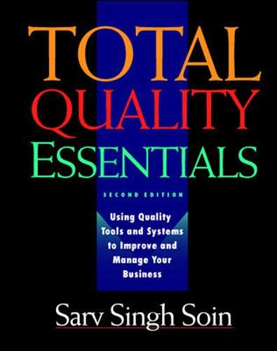 9780070595514: Total Quality Essentials