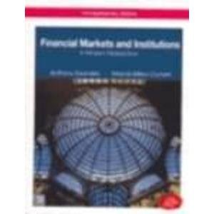 9780070596214: Financial Markets and Institutions: A Modern Perspective