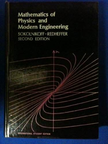 9780070596252: Mathematics of Physics and Modern Engineering