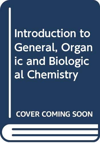 9780070596610: Introduction to General, Organic and Biological Chemistry