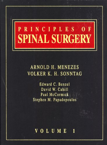 9780070596627: Principles of Spinal Surgery, Vol. 1: 001