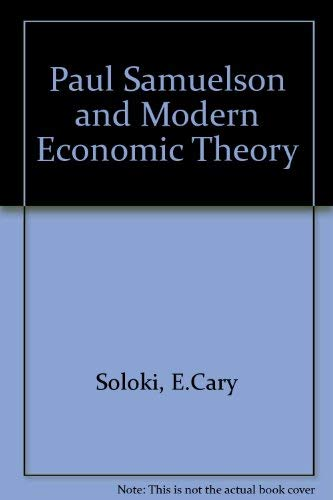 9780070596672: Paul Samuelson and Modern Economic Theory