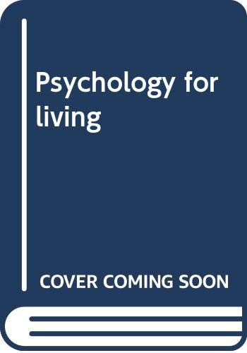 9780070597334: Psychology for living