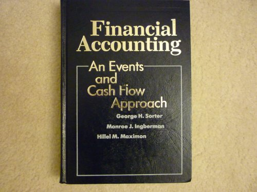 9780070597396: Financial Accounting: An Events and Cash Flow Approach