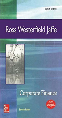 corporate finance ross ross westerfield Find great deals on ebay for corporate finance ross, westerfield, jaffe shop with confidence.
