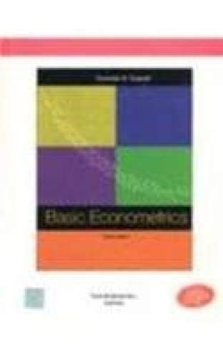 9780070597938: Basic Econometrics 4th Economy Edition Edition: fourth