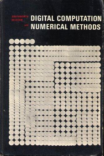 9780070597990: Digital Computation and Numerical Methods