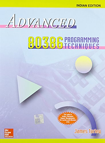 9780070598416: Advanced 80386 Programming Techniques