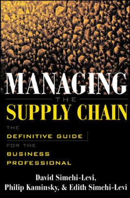 9780070598584: Managing the Supply Chain: Definitive Guide