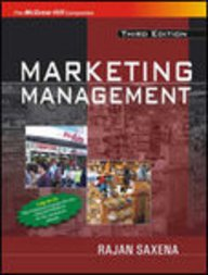 9780070599536: Marketing Management