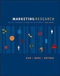 Marketing Research: Within a Changing Information Environment: Ghauri, P. & Cateora, P.