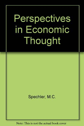 9780070600119: Perspectives in Economic Thought