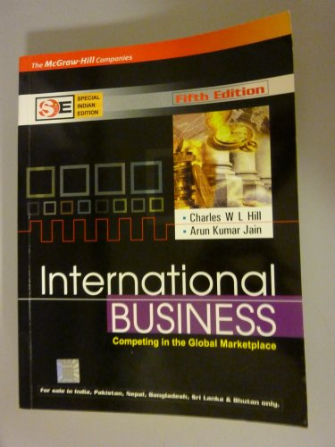 9780070600881: International Business, Competing in the Global Marketplace, Fifth Edition