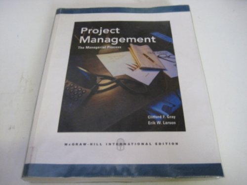9780070600935: Project Management