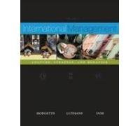 International Management: Culture, Strategy and Behaviour: Fred Luthans,Jonathan Doh,Richard ...