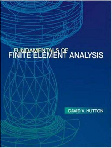 9780070601222: Fundamentals of Finite Element Analysis Edition: first
