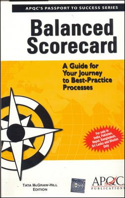 9780070601321: Balanced Scorecard: A Guide for Your Journey to Best-practice Processes