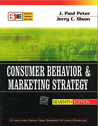 9780070601581: Consumer Behavior and Marketing Strategy 7th Edition (INDIAN EDITION)