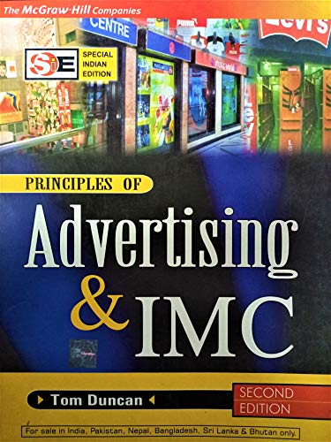 Principles Of Advertising & Imc(Sie): Unknown Author