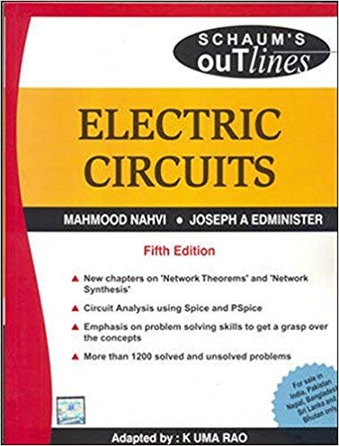 9780070601734: Schaum's Outline of Electric Circuits