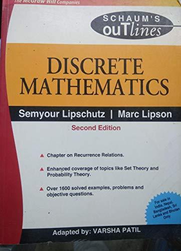 9780070601741: Discrete Mathematics