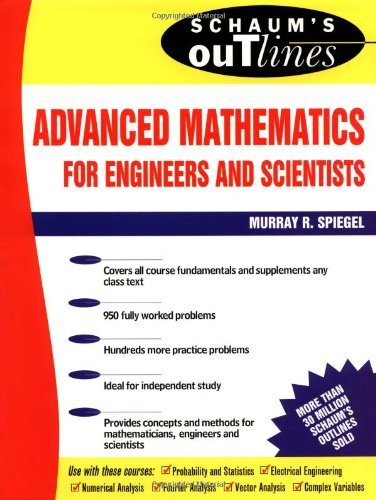 9780070602168: Schaum's Outline of Advanced Mathematics for Engineers and Scientists (Schaum's Outline Series)