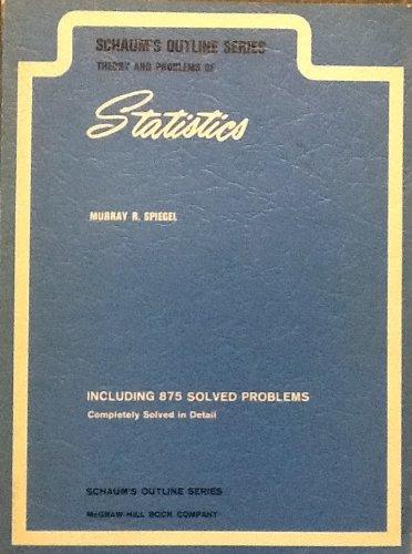 9780070602274: Schaum's Statistics
