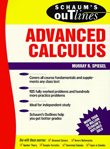 9780070602298: Schaum's Outline of Theory and Problems of Advanced Calculus