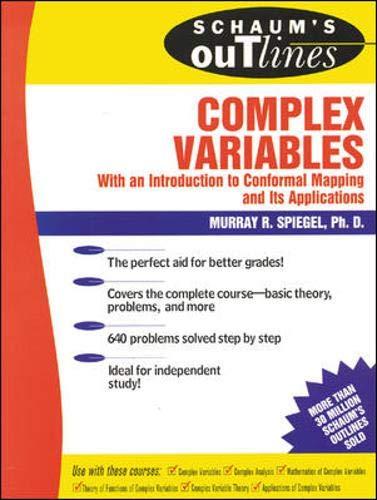 9780070602304: Schaum's Outline of Complex Variables