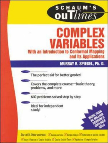 schaums outline of complex variables 2ed