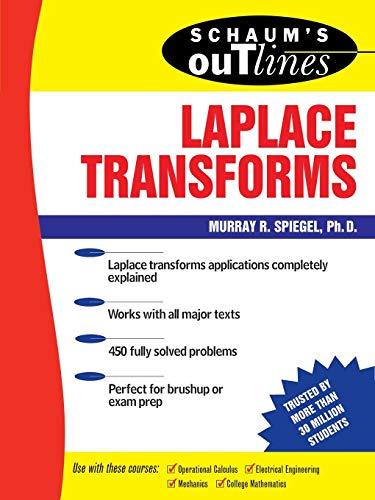 9780070602311: Schaum's Outline of Laplace Transforms (Schaum's Outline Series)
