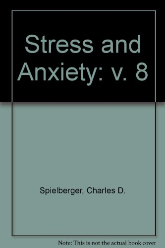 9780070602397: Stress and Anxiety (v. 8)