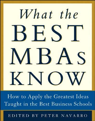9780070603257: What the Best MBAs Know
