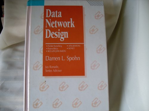 9780070603608: Data Network Design (Mcgraw-Hill Series on Computer Communications)